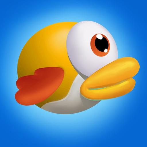 Super Flappy Adventure Game:New Bird Flying Run Free for Kids iOS App