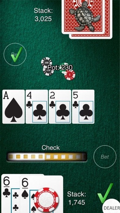 Heads Up: Hold'em  (1-on-1 Poker) Screenshot