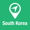 BigGuide South Korea Map + Ultimate Tourist Guide and Offline Voice Navigator