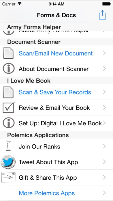 Soldier Forms And Documents On The App Store