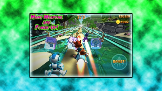 Rocket Racer R Screenshot