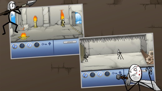 Stickman Escape III Screenshot