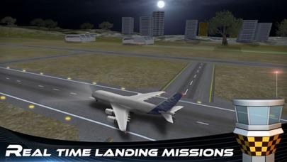 Screenshot for simulador de vuelo del avión 3D Pro - realista aventura de conducción Jumbo in Peru App Store