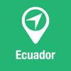 BigGuide Ecuador Karte + Grundlegend Touristenführer und Offline Stimm-Navigator