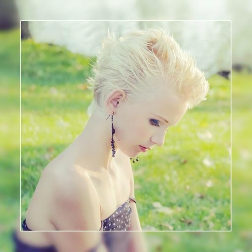 Retouche effet photo blur maquillage visage photo gratuit foto blur effects par nguyen giang - Maquillage photo gratuit ...