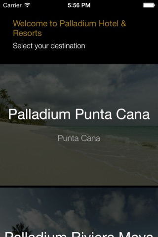 Grand Palladium Hotels&Resorts screenshot 1