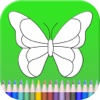 Butterfly Coloring Book For Toddlers
