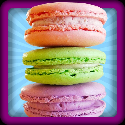 Macaron Cookies Maker - A kitchen tasty biscuit cooking & baking game iOS App