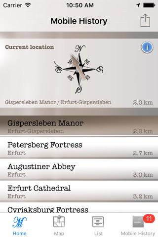 Mobile Geschichte - Burgen und Schlösser screenshot 1