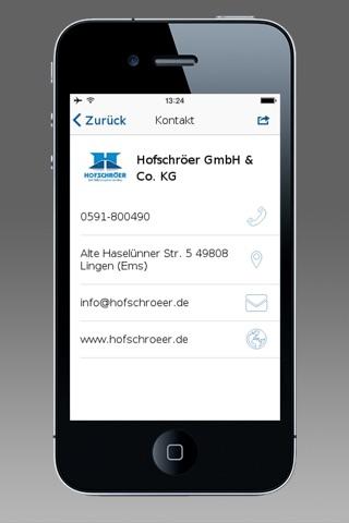 Bauunternehmung Hofschröer screenshot 3