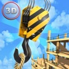 Tower Crane 3D Simulator Full - Start a construction, build a city!