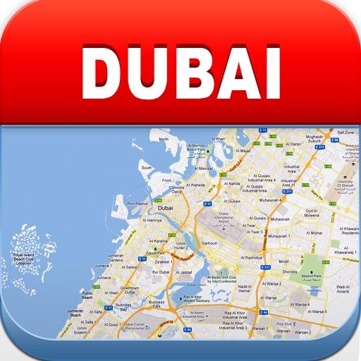 迪拜离线地图 – 城市地铁机场