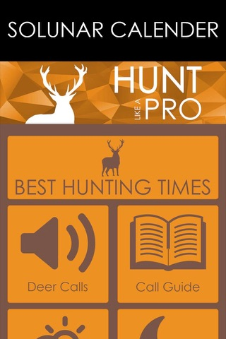 Solunar Best Hunting Times - Includes HD Deer Calls, Moon Phases, Detailed Weather & More screenshot 2