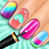 Uñas Cambio de imagen Chicas Juego: salón de belleza virtual - Uñas juego de decoración