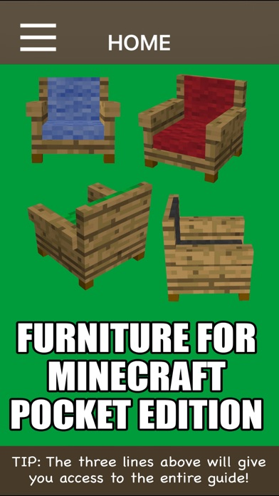 Screenshot for Furniture For Minecraft Pocket Edition in United States App Store
