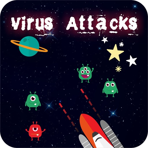 Virus Attacks - Shooting alien for Kids iOS App