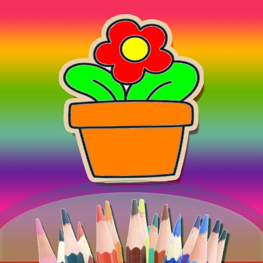 Kids love coloring book - Basic stage of enlightenment - Children's Painting Games iOS App