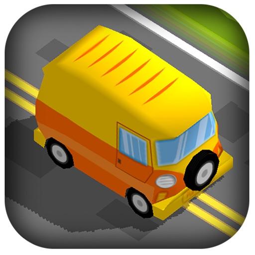 3D Zig Zag Toy Cars - Tap Cartoon Race to Avoid Troll Speed Traffic Racer iOS App
