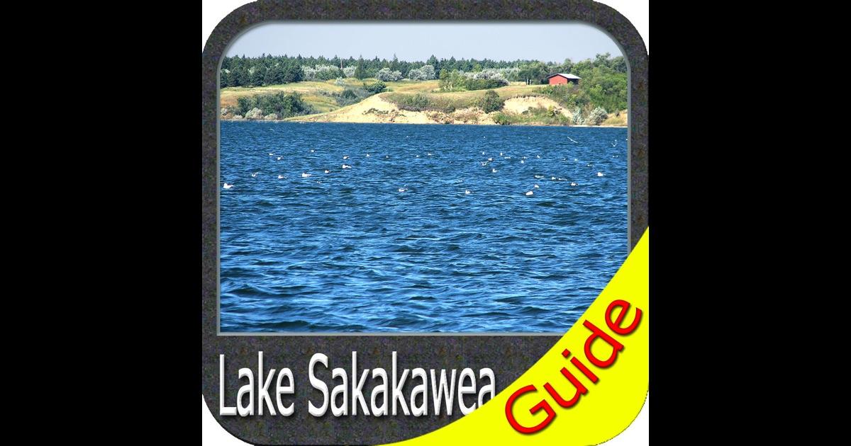 Lake sakakawea fishing app store for Lake sakakawea fishing