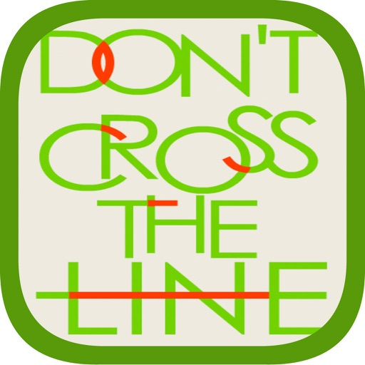 Don't Cross Line - Puzzle Game iOS App