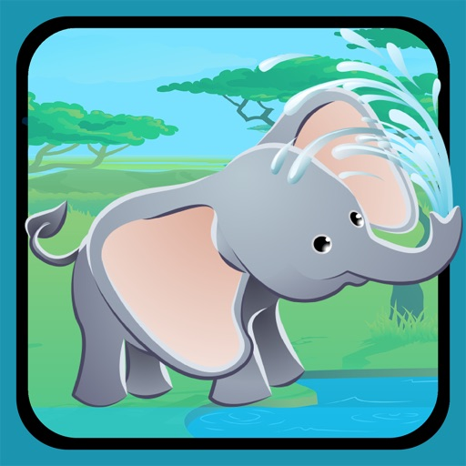 Animals of the Safari Sizing Game: Learn and Play for Children iOS App