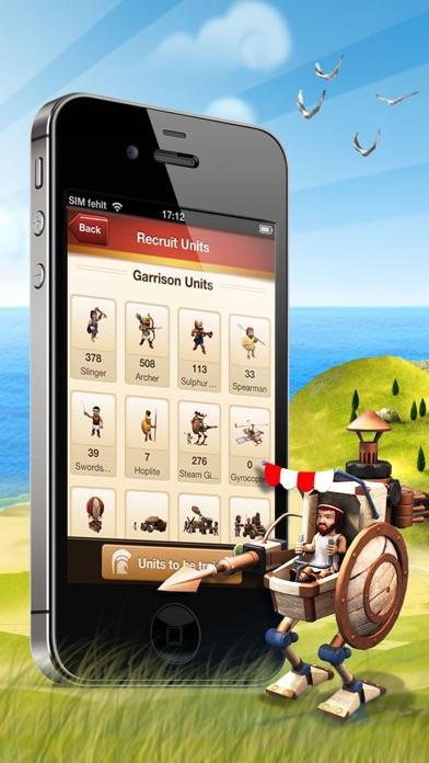 Screenshot of Ikariam Mobile4