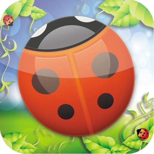 Ladybug Pop Puzzle Game (iPad Version) iOS App