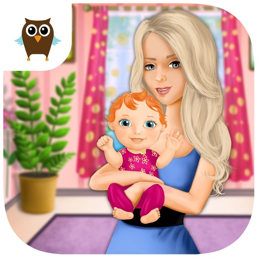 Sweet Baby Girl Newborn Baby Care - Mommy's Little Helper iOS App
