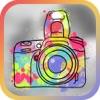 フォトエディタ - 利用アメージング色の効果