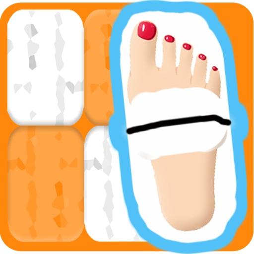 Walk On the Orange Tiles Faster iOS App