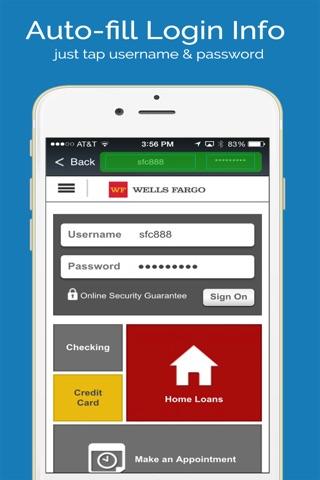 aMemoryJog PRO Secure Password Manager Vault & Digital Passcodes Safe screenshot 3
