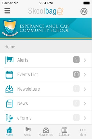 Esperance Anglican Community School - Skoolbag screenshot 2