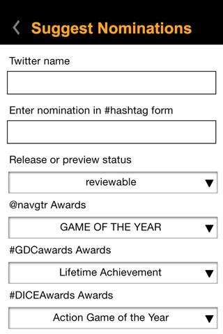 NAVGTR Award Junky screenshot 3