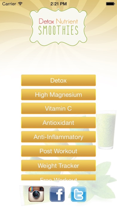 download Detox Smoothie Recipes apps 0