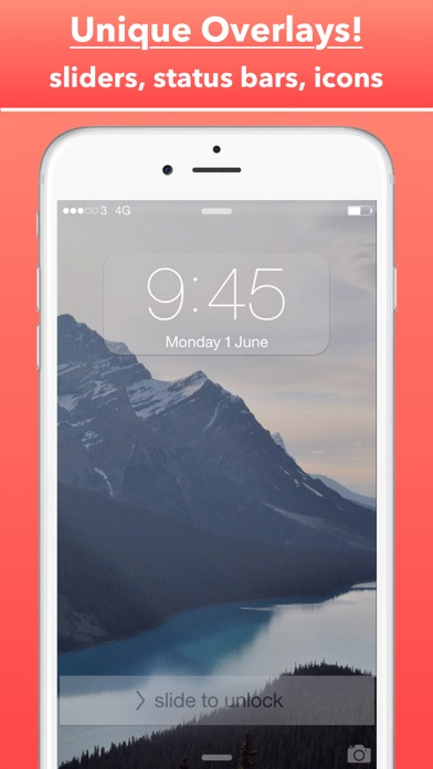 PRO Screen - Custom Home Screen and Lock Screen Wallpapers For iPhone, iPod Touch and iPad Screenshot