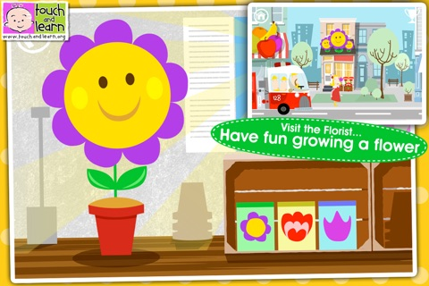 Fun Town for Kids Free - Creative Play by Touch & Learn screenshot 2