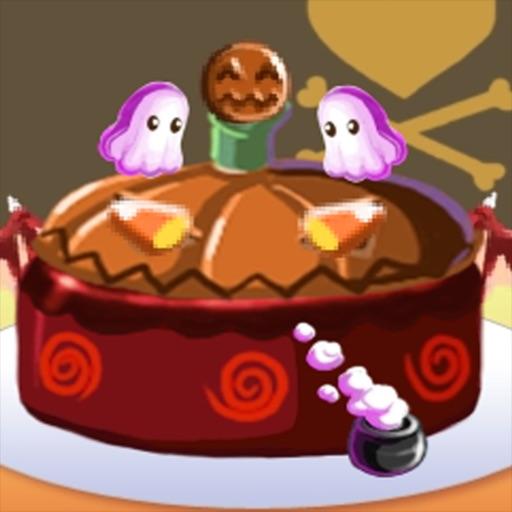 Haunted Halloween Cake Maker iOS App