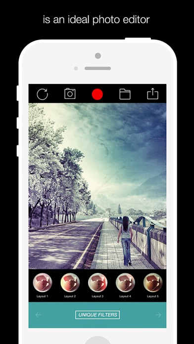 Quick FX Photo 360 - camera effects & filters plus photo editor Скриншоты3
