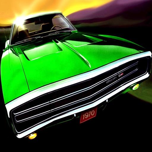 American Gold Robbery : Classic Car Racing iOS App