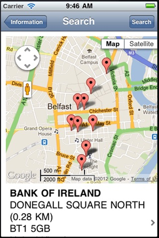 Bank Info screenshot 2