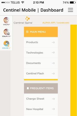 Centinel Spine™ Centinel Mobile screenshot 1