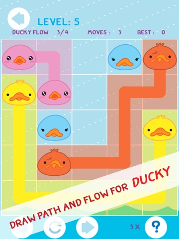 Ace of Duck Amuck Faces - Ducky Match and Link Fun Flow PRO-ipad-2