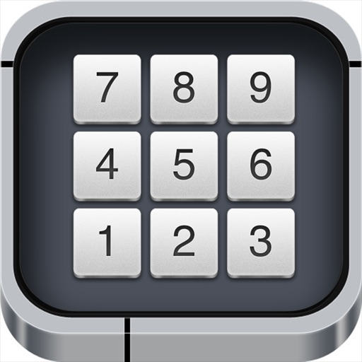 NumPad Remote - Wireless numeric pad iOS App