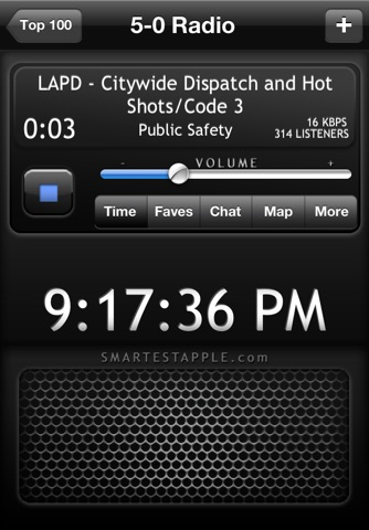 5-0 Radio Pro Police Scanner (Extra Feeds) screenshot 1