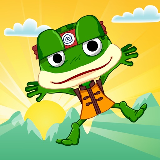 Frog Ninja - Catch flies more than friends! iOS App