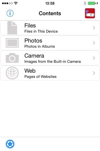 Wireless Image Utility screenshot 1