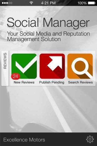 CDK Social Manager screenshot 1