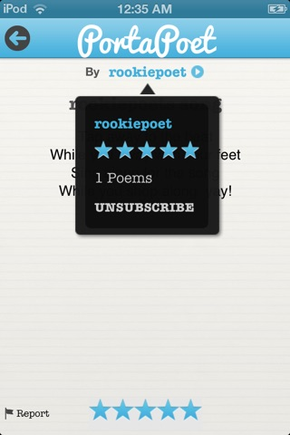 PortaPoet screenshot 4