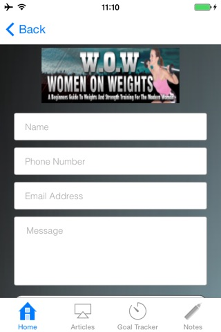 WOW:A Beginners Guide to Weights and Strength Training for the Modern Woman screenshot 3