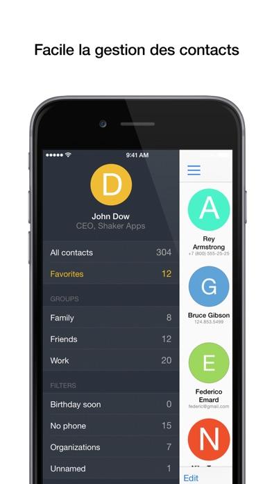 Screenshot #1 pour PhoneBook - Сontact Management